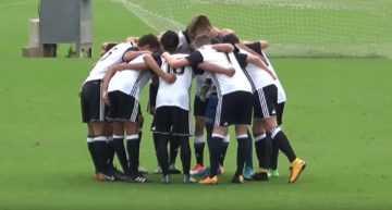 VIDEO: Ferrán dio los puntos al Valencia ante el Torre Levante en Liga Autonómica Cadete (2-1)