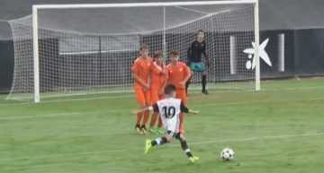 VIDEO: El Valencia Infantil se impuso al Torre Levante con comodidad en Liga Autonómica (4-0)