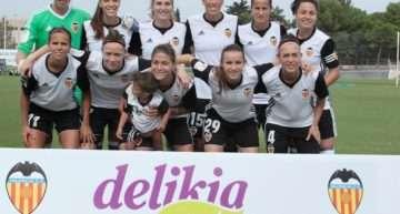 El Valencia CF Femenino logró su primer triunfo en casa ante el Sporting de Huelva (1-0)