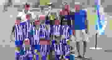 FB Denia, CF Base Gandia y Valencia CF, campeones del Torneo de Fútbol-8 Fira i Festes Gandia