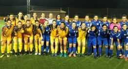 Derrotas en los amistosos de la Selección Femenina FFCV Sub-16 y Sub-18 ante Discóbolo y Marítim