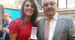 Ruth García, Medalla al Mérito Deportivo de la Generalitat por 'dignificar el fútbol femenino'