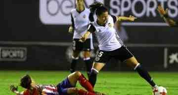 El Valencia CF Femenino perdió por la mínima frente al Atlético de Madrid Femenino (0-1)