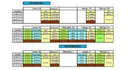 Así quedan los calendarios de los Cursos de Entrenador FFCV en la temporada 2017-2018