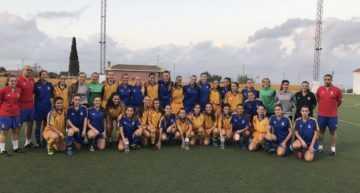Convocatoria para entrenamiento de la Selección Femenina FFCV el martes 17 en Picassent