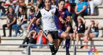 El Valencia Femenino no consiguió hacer daño al FC Barcelona (2-0)