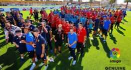 El Valencia CF DI disfrutó de la primera jornada de LaLiga Genuine