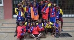 La Fundación LUD colabora en el envío solidario de material deportivo a Kenia