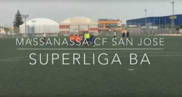 VIDEO: Debut intenso para CDB Massanassa y CF San José con triunfo visitante en Superliga Benjamín (0-1)