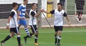 VIDEO: El Valencia sigue su racha ante el Celtic Elche en Liga Nacional Juvenil (3-1)