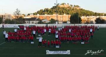 El CF Juventud Chiva tiñó de rojo el Municipal de Vistalegre para la 2017-2018