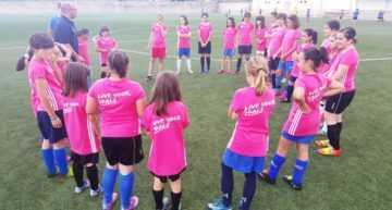Un noviembre repleto de Clinics de Fútbol Base Femenino en Buñol, Castellón y Villajoyosa
