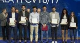 GALERÍA: El fútbol valenciano cerró su 2017 con la tradicional Gala de Premios y Trofeos en el Oceanogràfic