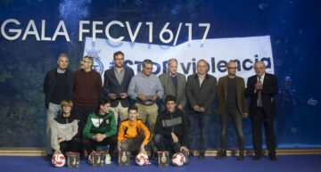 La FFCV reiteró su mensaje de #STOPViolencia en su Gala de Entrega de Premios