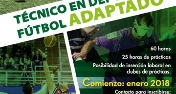 Ceneted Valencia presenta su Curso Técnico en Deporte y Fútbol Adaptado