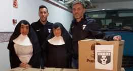 CF San José aporta 250kg de alimentos solidarios para estas Navidades