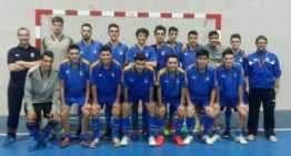 Amistoso entre la Selección Juvenil FFCV de fútbol sala y el Alzira FS