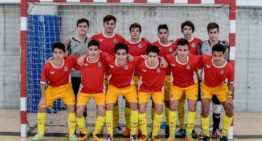 Los Cadetes de la FFCV de futsal cayeron con las botas puestas en el Nacional de Selecciones en Salou