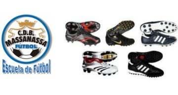 El CDB Massanassa aconseja a sus jugadores qué tipo de botas escoger