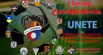 El CD Juventud Manisense pone en marcha su primer Torneo #STOPViolencia