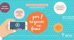 La FFCV respalda la campaña #por7razones de la AECC contra el tabaquismo