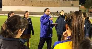 Santi Triguero (FFCV): 'Esta Sub-18 Femenina puede desequilibrar y hacer daño en cualquier posición'
