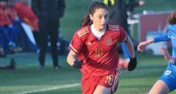 Aixa Salvador sustituye a Eva Navarro en la convocatoria de España Sub-17 Femenina