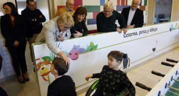 El alcalde Ribó y la concejala de Bienestar Social visitaron la Casa Ronald McDonald Valencia