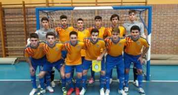 La Selección FFCV Sub-19 de futsal debutó ante Islas Baleares con victoria (3-2)