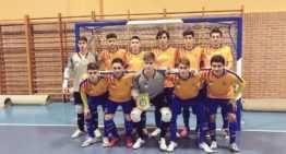 La Selección FFCV Juvenil de futsal cayó eliminada del Campeonato de España con todos los honores
