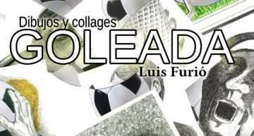 Luis Furió expone en 'Goleada' su pasión por el deporte y el dibujo