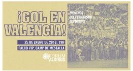 Fórum Algirós: '¡Gol en Valencia! Pioneros del periodismo deportivo' el próximo jueves 25 a las 19h en Mestalla