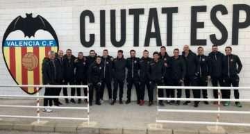 Los técnicos y preparadores de CF La Nucía vivieron una jornada de formación en la Academia VCF