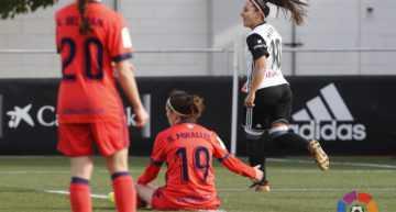El VCF Femenino se impone a la Real Sociedad con una estelar actuación de Mari Paz Vilas (3-1)