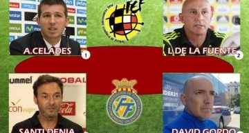 El COTIF analizará el martes 23 el joven fútbol español con los seleccionadores de España