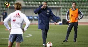 Cinco representantes valencianas estarán con la Selección Española Femenina absoluta