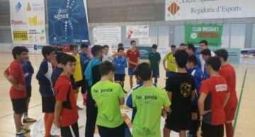Entrenamientos de las selecciones Alevín e Infantil de Fútbol Sala el domingo 18 en Burriana