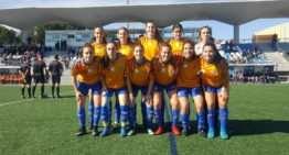 La Selección FFCV Sub-18 Femenina comienza con victoria ante Castilla y León la Fase 2 del Campeonato de España (0-3)
