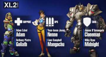 Puesta de largo del equipo academia de New York Excelsior para competir en Overwatch Contenders