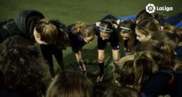 VIDEO: LaLiga también destaca la hazaña de las 'guerreras' del Alevín A del VCF Femenino