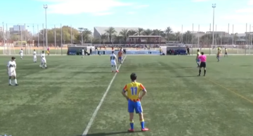 VIDEO: El Valencia asalta el feudo del Elche y se consolida arriba en División de Honor Juvenil (0-1)