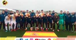 La Selección Española Sub-16 termina el Torneo de Desarrollo UEFA con empate ante Dinamarca (3-3)