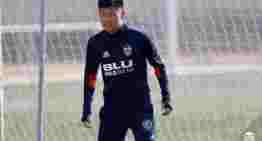 Marcelino pone cordura a la evolución de Kangin Lee: 'Hay que exigirle para que sea jugador del Valencia'