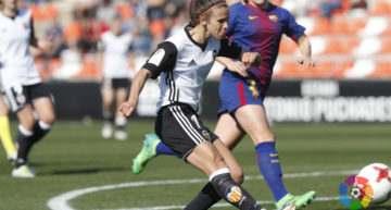 El Valencia sufre una dura derrota ante un Barcelona sobresaliente (1-4)