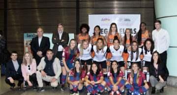Valencia, Levante y Valencia Basket apuestan por la visibilidad del deporte femenino valenciano
