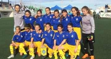La Selección FFCV Femenina Sub-12 acaba líder del Grupo B la primera jornada del Campeonato de España