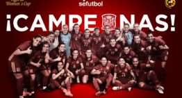 La Selección española femenina gana la Cyprus Cup al imponerse en la final a Italia por 0-2