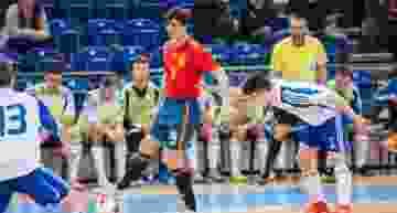 El debut del valenciano Jorge Plana como goleador de la Selección Sub-19 de futsal, desde dentro