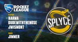Splyce añade experiencia a su proyecto 2018 de Rocket League con JWismont y DudeWithTheNose