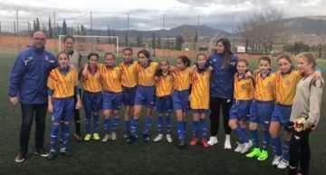 Las chicas de la Selección FFCV Sub-12 marchan rumbo a Murcia